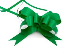 Green Bow 4 Stock Images