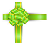 Green bow Royalty Free Stock Photo