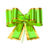 Green bow Royalty Free Stock Photo
