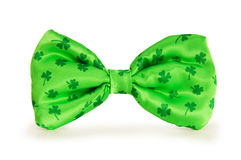 Green bow tie Royalty Free Stock Image