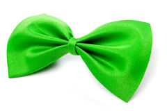 Green bow tie Royalty Free Stock Images