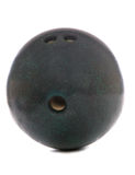 Green bowling ball Stock Image