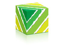 Green box Stock Photography