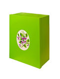 Green box Royalty Free Stock Images