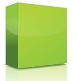 Green box Royalty Free Stock Photo