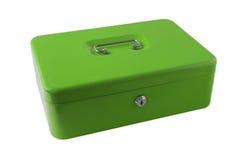 Green Box. Metal green Box stock photography