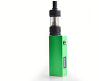 Green box mod. Simple green box mod on white background royalty free stock photo