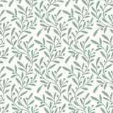 Green Branch. Seamless Pattern. Royalty Free Stock Image