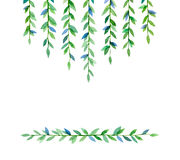 Green branches Royalty Free Stock Photo