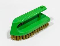 Green brass scrub brush Stock Photography