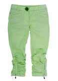 green breeches Royalty Free Stock Photography