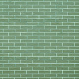 Green brick wall as background or texture Stock Images