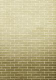 Green brick wall as background or texture Royalty Free Stock Photos