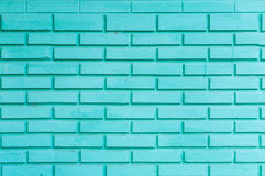 A green brick wall background for background. Green brick wall background for background Stock Photography