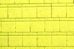 Green brick wall Royalty Free Stock Photo