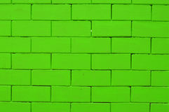 Green bricks Stock Images