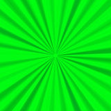 Green bright background with expanding rays Royalty Free Stock Images