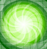 Green bright background with twist Stock Photo