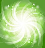 Green bright background with twist Royalty Free Stock Photography
