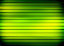 Green bright lines Stock Photo
