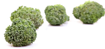 Green broccoli Stock Images