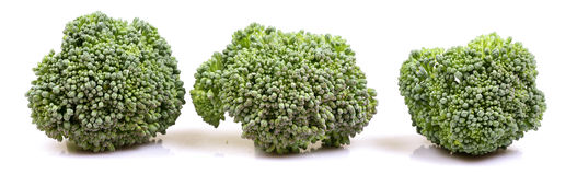 Green broccoli banner Stock Photos