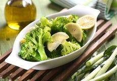 Green broccoli boiled Royalty Free Stock Photos