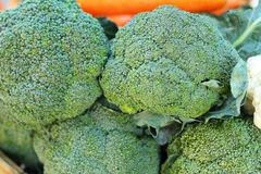 Green broccoli in the market Stock Photo