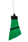 Green broom Stock Image