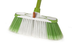 Green broom Royalty Free Stock Photography