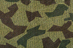 Green and brown camouflage Stock Photography