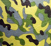 Green and brown military camouflage uniform pattern. Abstract background and texture for design royalty free stock image
