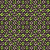 Green and brown seamless pattern Royalty Free Stock Photography