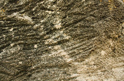 Green brown stone texture background. Green brown stone with strips background Royalty Free Stock Photos