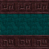 Green brown wall texture Royalty Free Stock Images