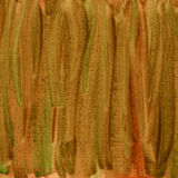 Green brown watercolor abstract on canvas Royalty Free Stock Photo