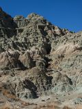 Mudstone cliff Royalty Free Stock Photo