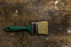 Green brush Royalty Free Stock Images