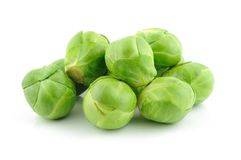 Green brussels sprouts Royalty Free Stock Photo
