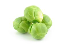 Green brussels sprouts Royalty Free Stock Image