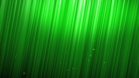 Green bubble rising in front of grass wall stock video footage