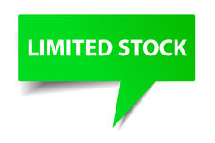 Green Bubble Talk - Limited Stock Stock Photo