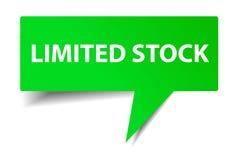 Green Bubble Talk - Limited Stock. Vector Bubble Talk - Limited Stock Stock Photo