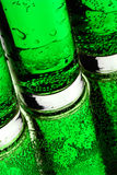Green bubbles royalty free stock photography