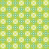 Green bubbles seamless texture. Abstract pattern; vector art illustration Royalty Free Stock Photos