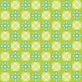 Green bubbles seamless texture. Abstract pattern; vector art illustration royalty free illustration