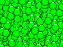 Green bubbles texture Royalty Free Stock Photos