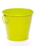 Green Bucket Stock Photo