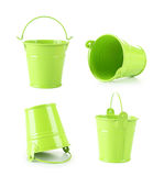 Green bucket Royalty Free Stock Images