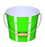 Green bucket Royalty Free Stock Photos